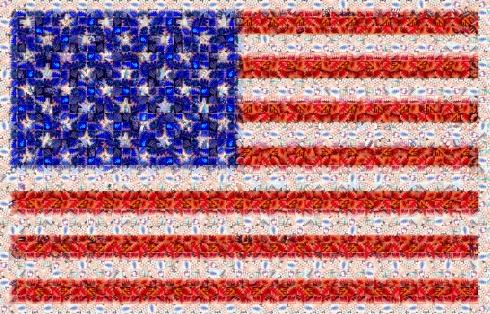 american-flag2 Mosaic