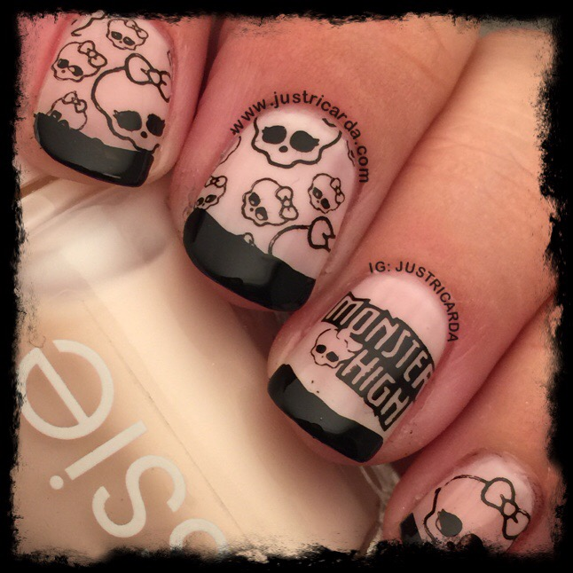 Monster High Nails Justricarda