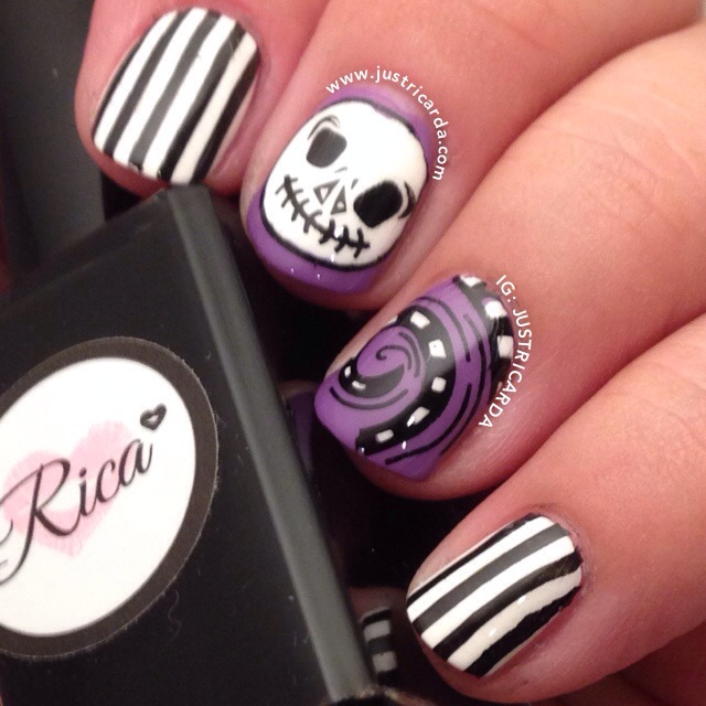 jack skellington nails | justricarda