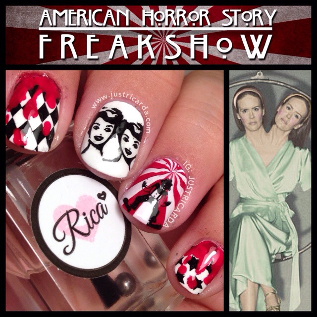 american horror story freak show nails | justricarda